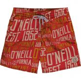O'Neill - Stack Boardshorts Jungen red aop