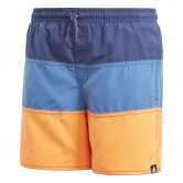 adidas - Colorblock Swim Shorts Boys noble indigo trace royal hi-res orange