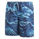 adidas - Parley Swim Shorts Boys noble indigo bright cyan