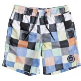 Quiksilver - Resin Check Volley Beachshorts Boys white