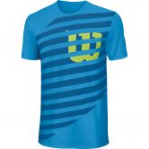 Wilson - Core Lined Tech Tee Shirt Jungen blithe