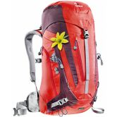 Deuter - ACT Trail 28L Damen fire aubergine