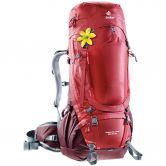 Deuter - Aircontact Pro 55+15L Trekking Backpack Women cranberry aubergine