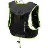 Dynafit - Vert 6 Running Backpack asphalt fluo yellow