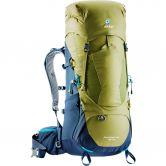 Deuter - Aircontact Lite 40+10l Trekking Backpack moss navy