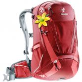 Deuter - Trans Alpine 28L Bike Backpack Women cranberry coral