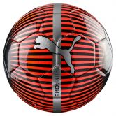 Puma - One Chrome Fußball red blast puma black silver