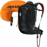 Scott - Backcountry Guide AP 30l KIT Lawinenrucksack black burnt orange