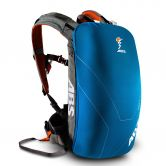 ABS - Powder Base Unit Lawinenrucksack grey inkl. 8l Packsack ocean blue