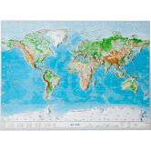 Georelief - World Small without frame