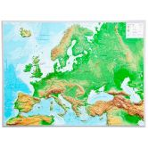 Georelief - Europa Large without frame