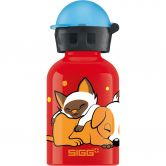 Sigg - Dogs Love Cats 0.3l Trinkflasche Kinder rot