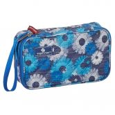 Eagle Creek - Pack-It Original Quilted Quarter Cube Kosmetiktasche daisy chain blue
