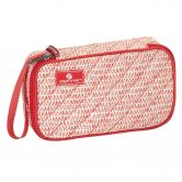 Eagle Creek - Pack-It Original Quilted Quarter Cube Cosmetic repeak red