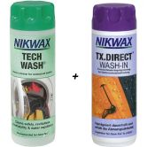 Nikwax - Tech Wash + TX Direct 2x300ml