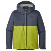 Patagonia - Torrentshell Jacke Herren dolomite blue light gecko green