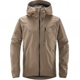 Haglöfs - L.I.M Hardshell Jacket Men dune