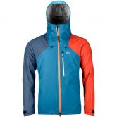 ORTOVOX - 3L Ortler Hardshell Jacket Men blue sea
