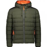 CMP - Fix Hood Winter Jacket Men oil green