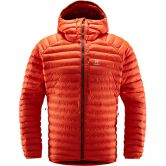 Haglöfs - Essens Mimic Hood Insulated Jacket Men habanero maroon red