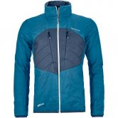 ORTOVOX - Swisswool Dufour Jacket Men blue sea