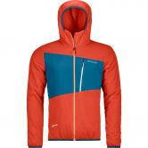 ORTOVOX - Swisswool Zebru Isolationsjacke Herren crazy orange