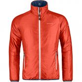 ORTOVOX - Swisswool Piz Bocal Jacke Herren crazy orange blend
