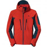 Schöffel - Penia Softshell Hoody Herren high risk red