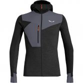 SALEWA - Puez 2 Dry Fleece Jacket Men black out melange