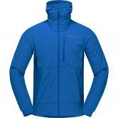 Norrona - Lofoten Hiloflex 200 Fleece Hybridjacke Herren olympian blue