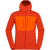 Norrona - lyngen Powerstretch Pro Fleece Jacket Men rooibos tea