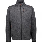 CMP - Fleece Jacket Men grey antracite