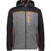 CMP - Fix Hood Fleece Jacket Men antracite