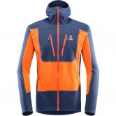 Haglöfs - Serac Fleece Jacket Men tarn blue cayenne