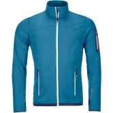 ORTOVOX - Fleece Light Jacke Herren blue sea