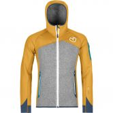 ORTOVOX - Fleece Plus Hoody Herren yellowstone