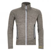 ORTOVOX - Fleece Light Melange Fleecejacke Herren grey blend