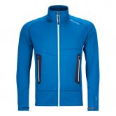 ORTOVOX - Fleece Light Jacke Herren safety blue