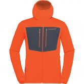 Norrona - Lyngen Powerstretch Pro Hooded Jacket Men scarlet ibis