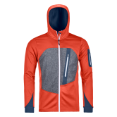 ORTOVOX - Fleece Loden Fleecejacke Herren crazy orange
