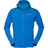 Norrona - Falketind Warm1 Stretch Zip Hoodie Herren hot sapphire