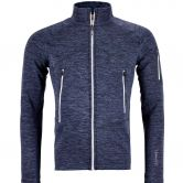 ORTOVOX - Fleece Light Melange Jacke Herren night blue