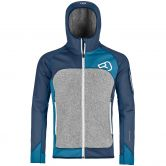 ORTOVOX - Fleece Plus Hoody Herren night blue