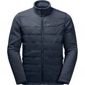 Jack Wolfskin - Caribou Crossing Track Fleecejacke Herren night blue