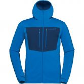 Norrona - Lyngen Powerstretch Pro Zip Hooded Jacket Men hot sapphire