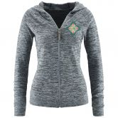 Red Chili - Bea Hoodie Damen grey melange