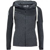 Chillaz - Rock Kapuzenjacke Damen anthrazit melange black melange