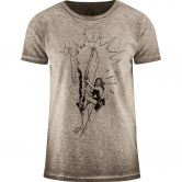 Red Chili - Erbse Flake T-Shirt Herren mud