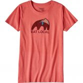 Patagonia - Eat Local Upstream T-Shirt Damen spiced coral