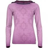 Chillaz - Bergamo Ornament Longsleeve Damen violet washed